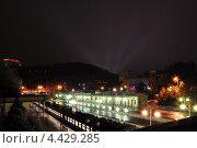 Кисловодский вокзал (2012 год). Редакционное фото, фотограф Синенко Юрий / Фотобанк Лори