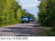 ЗиЛы на дороге (2012 год). Редакционное фото, фотограф Друзюк Олександр Степанович / Фотобанк Лори