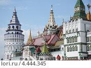 Купить «Измайловский Кремль в Москве, Россия», фото № 4444345, снято 5 августа 2012 г. (c) Жукова Юлия / Фотобанк Лори