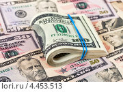 Купить «Доллары США», фото № 4453513, снято 22 сентября 2019 г. (c) FotograFF / Фотобанк Лори