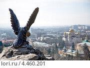 Купить «Орёл - победитель болезни, символ Пятигорска», фото № 4460201, снято 31 марта 2013 г. (c) Валерий Шилов / Фотобанк Лори
