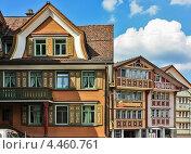 Купить «Здания в Аппенцелль, Швейцария», фото № 4460761, снято 19 мая 2009 г. (c) Boris Breytman / Фотобанк Лори