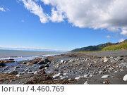 Берег моря, Камчатка. Стоковое фото, фотограф Денис Васильев / Фотобанк Лори