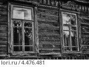 Фрагмент старого деревянного дома. Стоковое фото, фотограф Иванов Александр / Фотобанк Лори