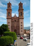 Купить «Собор Святой Приски в Таско. Мексика», фото № 4476565, снято 17 декабря 2011 г. (c) Ludenya Vera / Фотобанк Лори