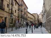 Купить «Средневековая улица в исторической части Толедо. Испания», фото № 4476753, снято 3 марта 2013 г. (c) Аркадий Захаров / Фотобанк Лори