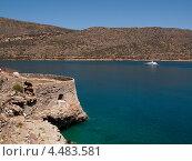 Купить «Крепость на острове Спиналонга», эксклюзивное фото № 4483581, снято 8 мая 2012 г. (c) Алина Голышева / Фотобанк Лори