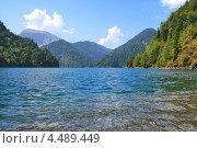 Озеро Рица. Стоковое фото, фотограф Viacheslav Afanasov / Фотобанк Лори