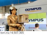 Купить «Фотофорум 2013, Москва», эксклюзивное фото № 4507365, снято 11 апреля 2013 г. (c) Дмитрий Неумоин / Фотобанк Лори