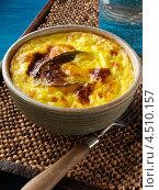 Купить «Боботи, южно-африканская запеканка с фаршем», фото № 4510157, снято 19 октября 2018 г. (c) Food And Drink Photos / Фотобанк Лори