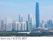 Купить «Международный финансовый центр в утром в Гуанчжоу, Китай», фото № 4515401, снято 23 ноября 2011 г. (c) Losevsky Pavel / Фотобанк Лори