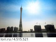 Купить «Телебашня Гуанчжоу, Китай», фото № 4515521, снято 23 ноября 2011 г. (c) Losevsky Pavel / Фотобанк Лори