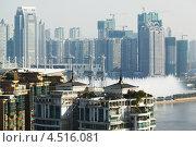 Купить «Новые и строящиеся небоскребы, Гуанчжоу, Китай», фото № 4516081, снято 24 ноября 2011 г. (c) Losevsky Pavel / Фотобанк Лори