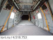 Купить «Вертолет, грузовой отсек», фото № 4518753, снято 21 мая 2011 г. (c) Losevsky Pavel / Фотобанк Лори