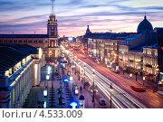 Вечерний Санкт-Петербург (2009 год). Редакционное фото, фотограф Игорь Романчук / Фотобанк Лори