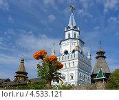 Купить «Измайловский кремль, район Измайлово, Москва», эксклюзивное фото № 4533121, снято 28 сентября 2012 г. (c) lana1501 / Фотобанк Лори