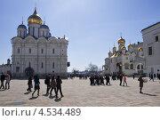 Соборная площадь Московского Кремля (2013 год). Редакционное фото, фотограф Ekaterina Shustrova / Фотобанк Лори