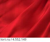 Купить «Красная шелковая ткань со складками», фото № 4552149, снято 11 марта 2013 г. (c) Светлана Ильева (Иванова) / Фотобанк Лори