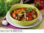 Купить «Запечённый постный суп», эксклюзивное фото № 4560913, снято 24 апреля 2013 г. (c) Александр Курлович / Фотобанк Лори