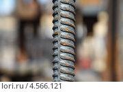 Купить «Стержень арматуры класса A-III», эксклюзивное фото № 4566121, снято 27 апреля 2013 г. (c) Валерий Акулич / Фотобанк Лори