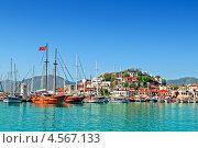 Купить «Порт Мармарис вид с воды», фото № 4567133, снято 18 октября 2012 г. (c) Лукаш Дмитрий / Фотобанк Лори