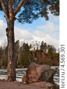 Купить «Капелла Людвигсбург на острове Мертвых, парк Монрепо», фото № 4569301, снято 27 апреля 2013 г. (c) Юлия Бабкина / Фотобанк Лори