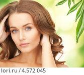 Купить «Портрет ухоженной девушки с минимальным макияжем и подтянутой кожей», фото № 4572045, снято 10 октября 2010 г. (c) Syda Productions / Фотобанк Лори