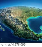 Купить «Мексика. Вид из космоса», иллюстрация № 4578093 (c) Антон Балаж / Фотобанк Лори