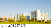 Купить «Микрорайон Щербинка,панорама», фото № 4587245, снято 3 мая 2012 г. (c) Katerina Anpilogova / Фотобанк Лори