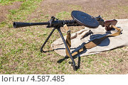 Купить «Ручной пулемет Дегтярёва», фото № 4587485, снято 16 июня 2019 г. (c) FotograFF / Фотобанк Лори