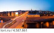 Купить «Санкт-Петербург. Ново-каменный мост через обводный канал», эксклюзивное фото № 4587861, снято 1 мая 2013 г. (c) Литвяк Игорь / Фотобанк Лори