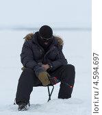 Рыбак (2013 год). Редакционное фото, фотограф Алексей Федоров / Фотобанк Лори