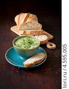 Купить «Суп овощной со сливками», фото № 4595005, снято 5 мая 2013 г. (c) Eve Voevoda / Фотобанк Лори