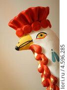 Индюк дымковская игрушка. Стоковое фото, фотограф Семен Трофимов / Фотобанк Лори
