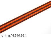Георгиевская лента. Стоковое фото, фотограф Tatyana Krasikova / Фотобанк Лори