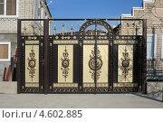 Купить «Новые ворота», эксклюзивное фото № 4602885, снято 29 апреля 2013 г. (c) Игорь Веснинов / Фотобанк Лори