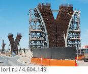 Реконструкция моста. Стоковое фото, фотограф Кропотов Лев / Фотобанк Лори