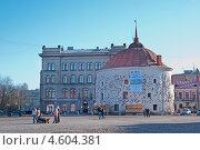 Купить «Выборг. Круглая башня», эксклюзивное фото № 4604381, снято 1 мая 2013 г. (c) Румянцева Наталия / Фотобанк Лори