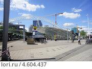 На вокзале в Роттердаме (2011 год). Редакционное фото, фотограф Романова Ксения Вячеславовна / Фотобанк Лори