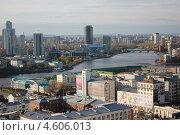 Екатеринбург вид с Антея 2 (2011 год). Редакционное фото, фотограф Алексей Михеев / Фотобанк Лори