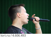 Купить «Алексей Серов. Музыкант», эксклюзивное фото № 4606493, снято 8 сентября 2012 г. (c) Вероника / Фотобанк Лори