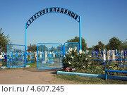 Сельское кладбище (2013 год). Редакционное фото, фотограф Игорь Веснинов / Фотобанк Лори