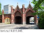 Купить «Бранденбургские ворота. Калининград», фото № 4611045, снято 11 мая 2013 г. (c) Сергей Куров / Фотобанк Лори