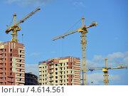 Купить «Строительство домов», эксклюзивное фото № 4614561, снято 20 апреля 2013 г. (c) Александр Алексеев / Фотобанк Лори