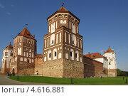 Купить «Мирской замок, Беларусь», фото № 4616881, снято 5 мая 2013 г. (c) Natalya Sidorova / Фотобанк Лори