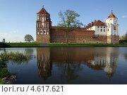 Купить «Мирский замок на закате, Беларусь», фото № 4617621, снято 5 мая 2013 г. (c) Natalya Sidorova / Фотобанк Лори