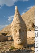 Купить «Статуи на горе Немрут в Турции», фото № 4622113, снято 19 августа 2008 г. (c) Stockphoto / Фотобанк Лори