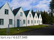 Исландские дома (2012 год). Стоковое фото, фотограф Екатерина Шувалова / Фотобанк Лори
