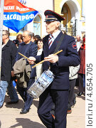 Барабанщик на демонстрации (2013 год). Редакционное фото, фотограф Алла Лузгина / Фотобанк Лори