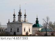 Купить «Суздаль, храмы города», эксклюзивное фото № 4657593, снято 10 мая 2013 г. (c) Дмитрий Неумоин / Фотобанк Лори